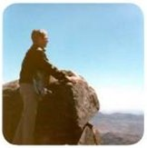 Dr. Williams at the summit of Mt. Sinai